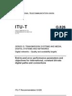 ITU-T G.826