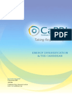 Caribbean Policy Research Institute (CaPRI), Energy Diversification and the Caribbean, 12-2009