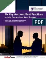 6 Key Account Best Practices7312