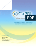 Caribbean Policy Research Institute (CaPRI), Renewable Energy
