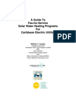 REEEP, A Guide to Fee-for-Service Solar Water Heating Programs for Caribbean Electric Utilities, 2006