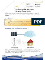 Alvarion BreezeMAX PRO 5000 Hardware Setup