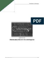 Exercices de Probabilités I