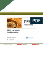 Oracle Bi 11g Security - Troubleshooting