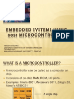 Embedded Systems Using 8051 Microcontroller