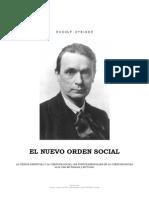 200. R. Steiner - La Cuestión Social