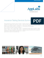 Insurance Testing AppLabs