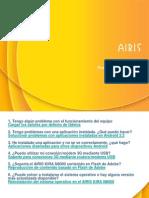 AIRIS KIRA N8000 - Preguntas Frecuentes