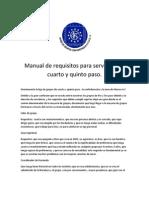 Manual de Servicios de 4 y 5 Paso