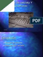 Bloques de Concreto Silico Calcareo