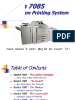 Production Printing System 7085
