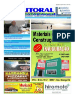 Jornal DoLitoral Paranaense - Edição 176 - Online - agosto 2011