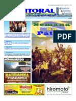 Jornal DoLitoral Paranaense - Edição 177 - Online - agosto 2011