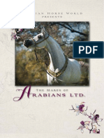 Arabian Horse World July 2012 Cover Story