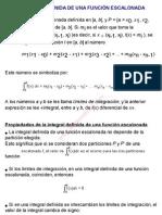0Integral definida de una función escalonada