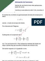 0Optimización de funciones