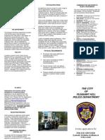 Police Officer Flyer July 2012