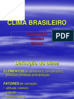 Clima Brasileiro