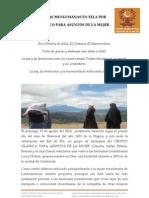 Informe de Visita a Hermanas Musulmanas en Xela GUATEMALA por el CENTRO ISLAMICO PARA ASUNTOS DE LA MUJER