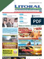 Jornal DoLitoral Paranaense - Edição 188 - Online - julho 2012