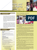 Rural Women and Economic Rights. Bulletín N° 001 • Year 2 • A pril 2012
