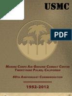 MCAGCC 60th Anniversary