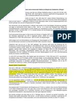 PV-Anlagen im kommunalen Netz am Beispiel der Stadtwerke Löffingen