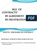 Dischage of Contract