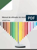 Manual AOC e2043F