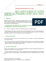 COMUNICADO TECNICO 2 2011 Reducao Aumento de Demanda Em SE1 e Ajuste de Rele