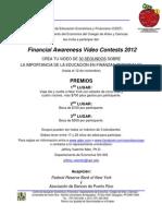 Anuncio 2012 Video Contest Prensa UPRM