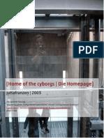 Home of the Cyborgs | Die Homepage