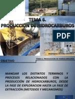 TEMA 7 PRODUCCION de Hidrocarburos