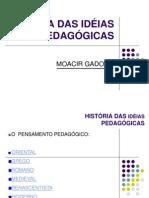 Teorias pedagógicas - Moacir Gadotti