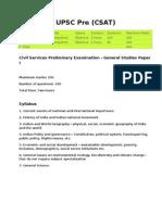 UPSC IAS Examination Guidelines by Manasvi Mehta