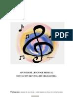 Apuntes de Lenguaje Musical