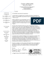 Michelle Lujan Grisham Resignation Letter