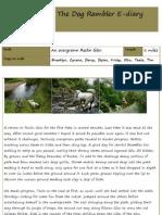 The Dog Rambler E-diary 24 August 2012