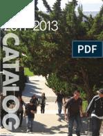 HNU Catalog 2012-2013