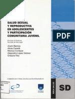 Salud Sexual y Reproductiva en Adolescentes y Participación Comunitaria Juvenil