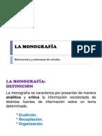 09 La Monografía
