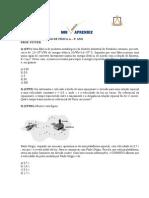LISTA DE EXERCÍCIOS DE FÍSICA A - 3o Bimestre - 3o ANO
