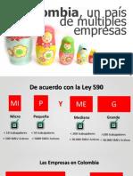"""""""Colombia un país de múltiples Empresas"""" Camilo Montes Director Nacional de MIpymes"""