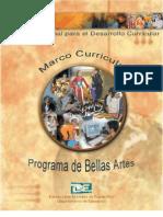 Marco Curricular Bellas Artes