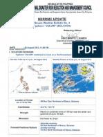 Ndrrmc Update Swb No. 4 Julian, 24 Aug