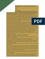 PLAN DE TRÁNSITO ENTRE CICLOS EDUCATIVOS