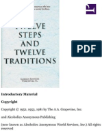alcoholics anonymous  twelve steps and twelve traditions epub