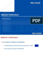 Material Codification Strategy-2.0