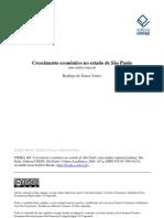Crescimento econômico no estado de São Paulo