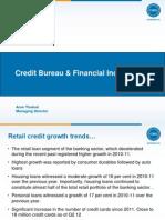 Campus Outreach- Credit Bureaus & Financial Inclusion Pune Aug 13